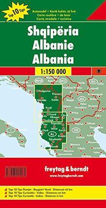 ALBANIEN [ALBANIA] 1:150.000- FREYTAG & BERNDT
