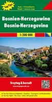 BOSNIEN HERZEGOWINA (BOSNIA HERCEGOVINA) 1:200.000 -FREYTAG