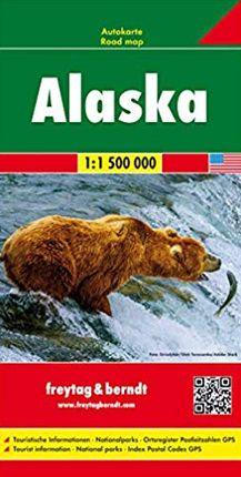 ALASKA 1:1.500.000- FREYTAG & BERNDT