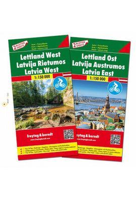 LATVIA WEST / LATVIA EST [1:150.000] -FREYTAG & BERNDT