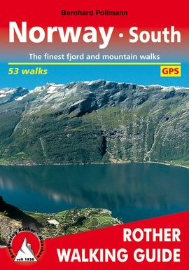 NORWAY SOUTH -ROTHER WALKING GUIDE