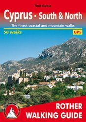 CYPRUS SOUTH & NORTH -ROTHER WALKING GUIDE