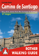 CAMINO DE SANTIAGO [ENG] -ROTHER WALKING GUIDE