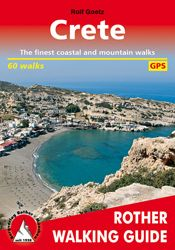 CRETE. WALKING GUIDE -ROTHER