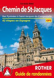 CHEMIN DE ST-JACQUES. GUIDE DE RANDONNEES -ROTHER