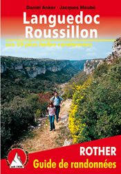 LANGUEDOC ROUSILLON -GUIDE DE RANDONNEES -ROTHER