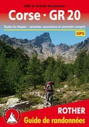 CORSE - GR 20 -GUIDES DE RANDONNEES -ROTHER