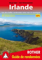 IRLANDE. GUIDE DE RANDONNEES -ROTHER