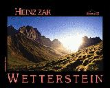 WETTERSTEIN -ROTHER