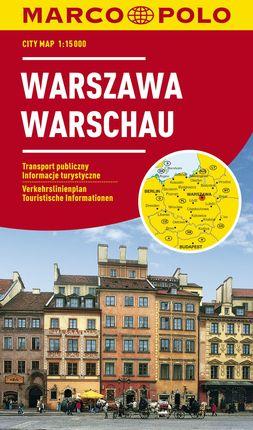 WARSCHAU / VARSOVIA [1:15.000] -MARCO POLO