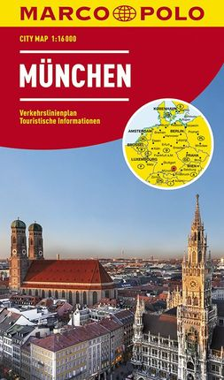 MÜNCHEN / MUNICH [1:16.000] -MARCO POLO