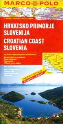 CROATIAN COAST, SLOVENIA 1:300.000 -MARCO POLO