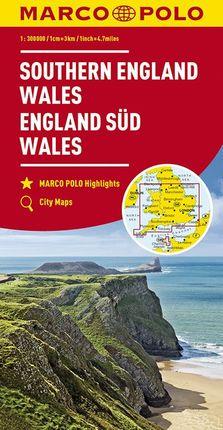 SOUTHERN ENGLAND - WALES [1:300.000] -MARCO POLO