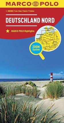 DEUTSCHLAND NORD [1:500.000] -MARCO POLO