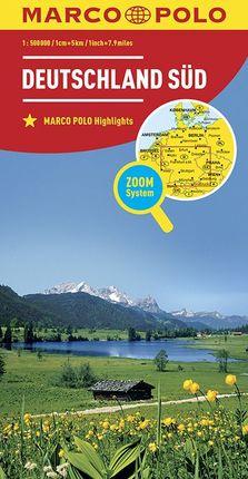 DEUTSCHLAND SUD [1:500.000] -MARCO POLO