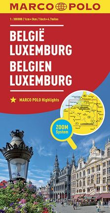 BELGIË - LUXEMBURG [1:300.000] -MARCO POLO