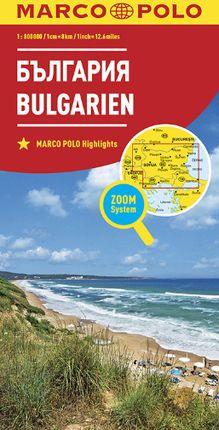 BULGARIEN BULGARIA 1:800.000 -MARCO POLO