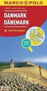 DANMARK DANEMARK DENMARK 1:300.000 -MARCO POLO