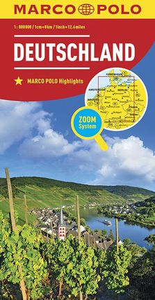 DEUTSCHLAND / GERMANY [1:800.000] -MARCO POLO