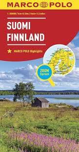SUOMI FINNLAND FINLAND 1:850.000 -MARCO POLO