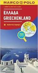 GRIECHENLAND GREECE 1:800.000 -MARCO POLO