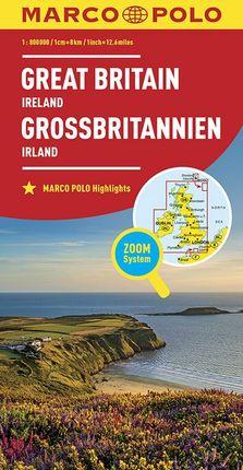GREAT BRITAIN - IRELAND [1:800.000] -MARCO POLO