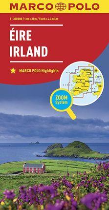 IRELAND IRLANDE EIRE 1:300.000 -MARCO POLO