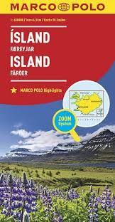 ISLAND ICELAND 1:650.000 -MARCO POLO