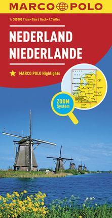 NEDERLAND - NETHERLANDS 1:300.000 -MARCO POLO