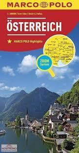 OSTERREICH AUSTRIA AUTRICHE 1:300.000-MARCO POLO