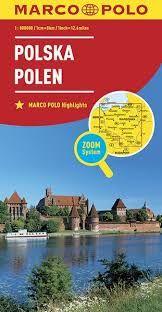 POLSKA POLEN POLAND 1:800.000 -MARCO POLO