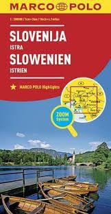SLOVENIJA ISTRA SLOVENIA 1:300.000 -MARCO POLO
