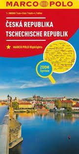 CESKA REPUBLIK CZECH REPUBLIC 1:300.000 -MARCO POLO
