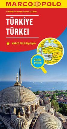 TURQUIA 1:800.000 -MARCO POLO