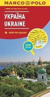 UKRAINE 1:800.000 -MARCO POLO