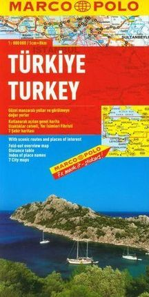 TURKIYE - TURKEY 1:800.000 -MARCO POLO