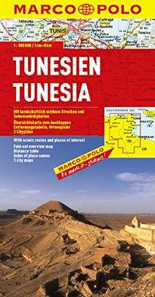 TUNISIE 1:800.000 -MARCO POLO