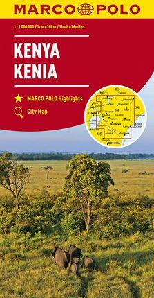 KENYA [1:1.000.000] -MARCO POLO