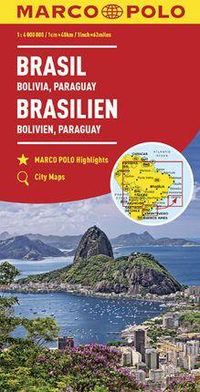 BRASIL 1:4.000.000 -MARCO POLO