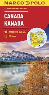 CANADA 1:4.000.000 -MARCO POLO
