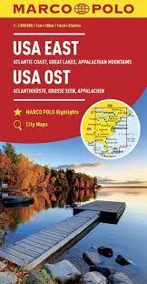 USA EAST 1:2.000.000 -MARCO POLO