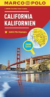 CALIFORNIA 1:800.000 -MARCO POLO