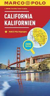 CALIFORNIA 1:800.000 -MARCO POLO