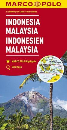 INDONESIA - MALAYSIA [1:2.000.000] -MARCO POLO