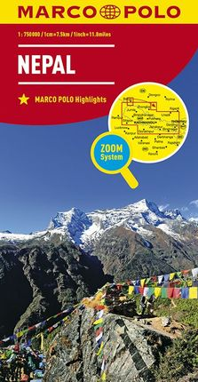 NEPAL [1:750.000] -MARCO POLO