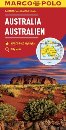 AUSTRALIA 1:4.000.000 -MARCO POLO