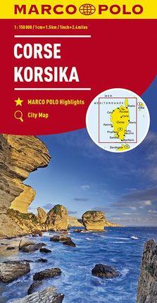 CORSE / KORSIKA [1:150.000] -MARCO POLO