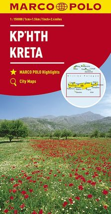 KRETA / CRETE [1:150.000] -MARCO POLO
