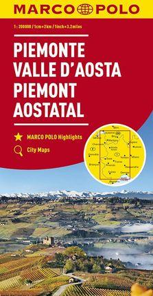 PIEMONTE - VALLE D'AOSTA [1:200.000] -MARCO POLO