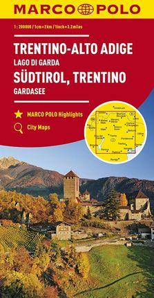 TRENTINO - ALTO ADIGE [1:200.000] -MARCO POLO